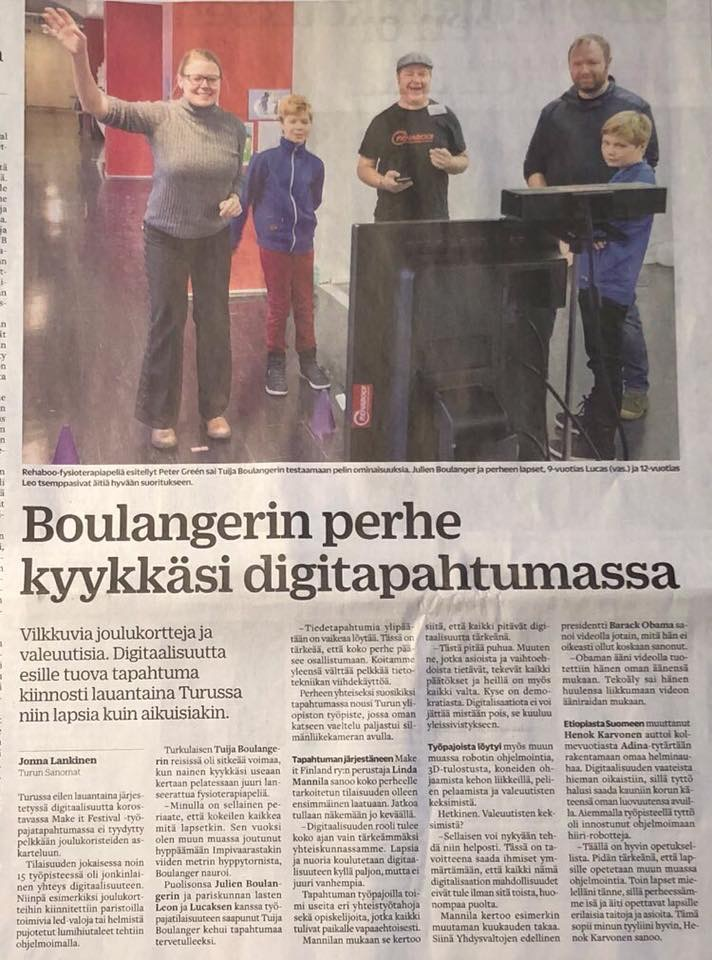 Turun Sanomat, Make It Festival